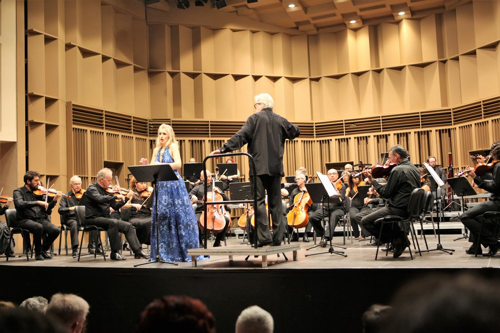 Scandinavian Sentiments; Orchestral concerts, 24/25/26 October 2018 - Katerina performs with Finnish conductor Esa Heikkilä and the Cyprus Symphony Orchestra, music by J. Sibelius (Arioso, op.3), E. Grieg (Solveig's Song) and W. A. Mozart (Chi sà, chi sà, qual sia, K. 582).