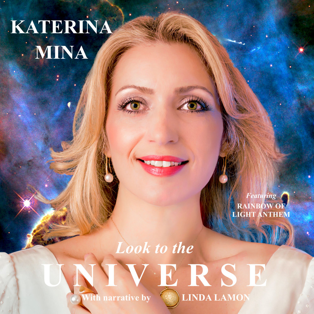 New Single Release, January 2019 - Katerina's new single «Look to the Universe» (remix version) with music by British songwriter Linda Lamon was officially released on the 8th of January 2019, in celebration of the late Professor Stephen Hawking's Birthday. This beautiful, uplifting song which Katerina had the honour to perform live at UNESCO's Headquarters in Paris to open the inaugural celebrations of the 1st International Day of Light, is available to download on all digital stores!