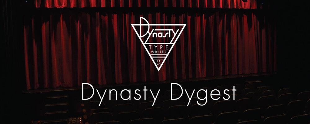 Dynasty Typewriter Newsletter