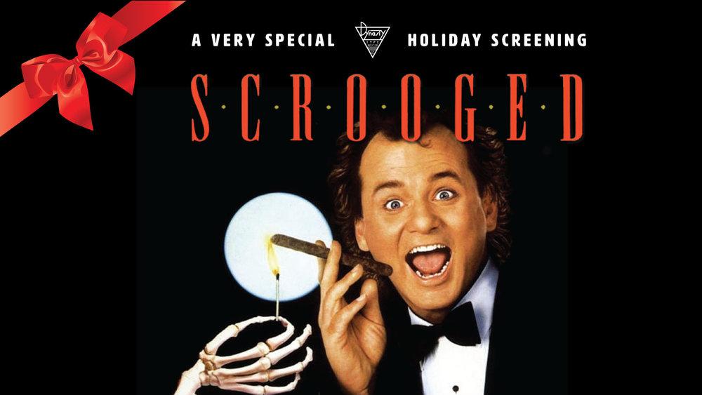 Scrooged Screening with FREE Christmas Cookies — Dynasty Typewriter ...