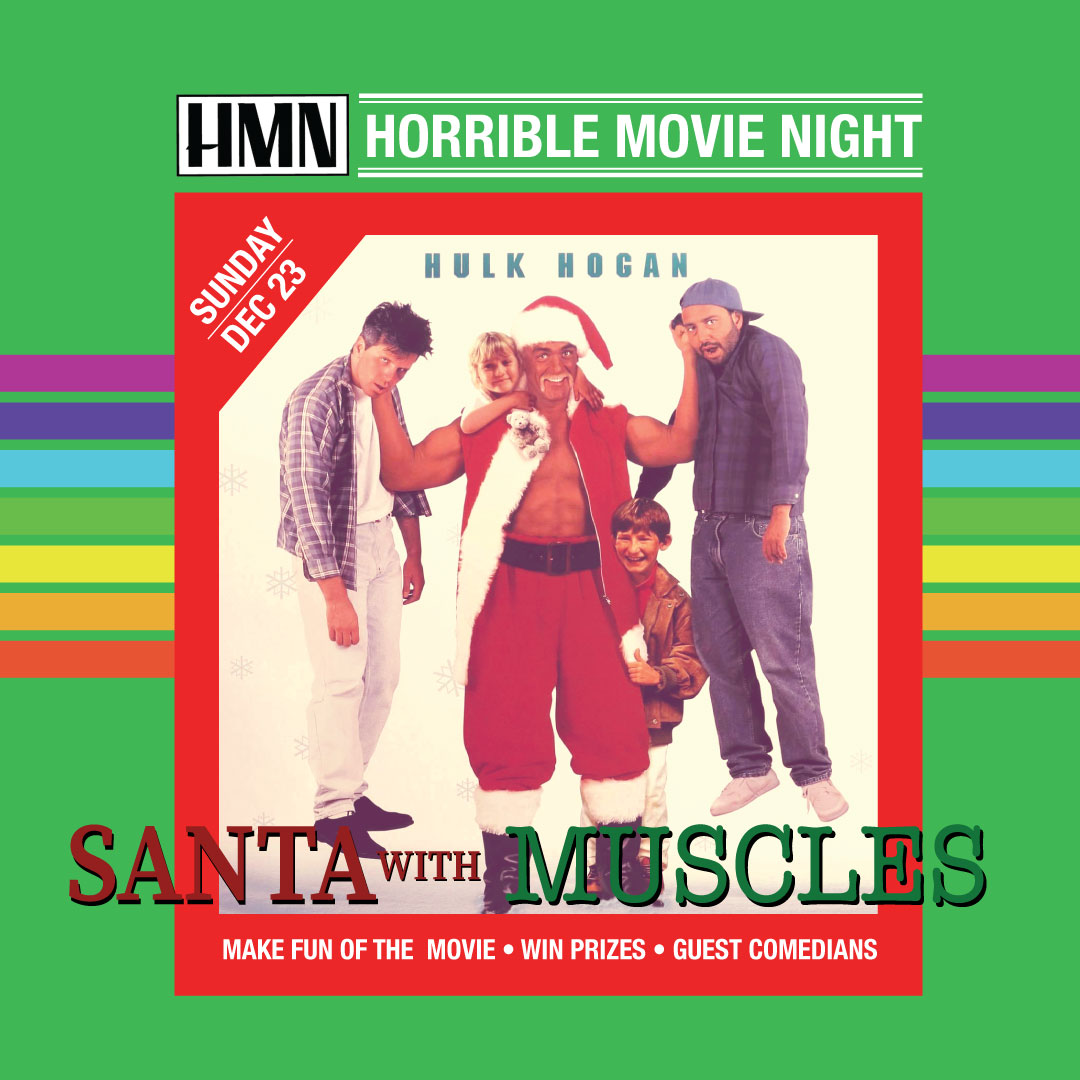"Anatomy Of Hell Deutsch horrible movie night presents: ""santa with muscles"" starring"