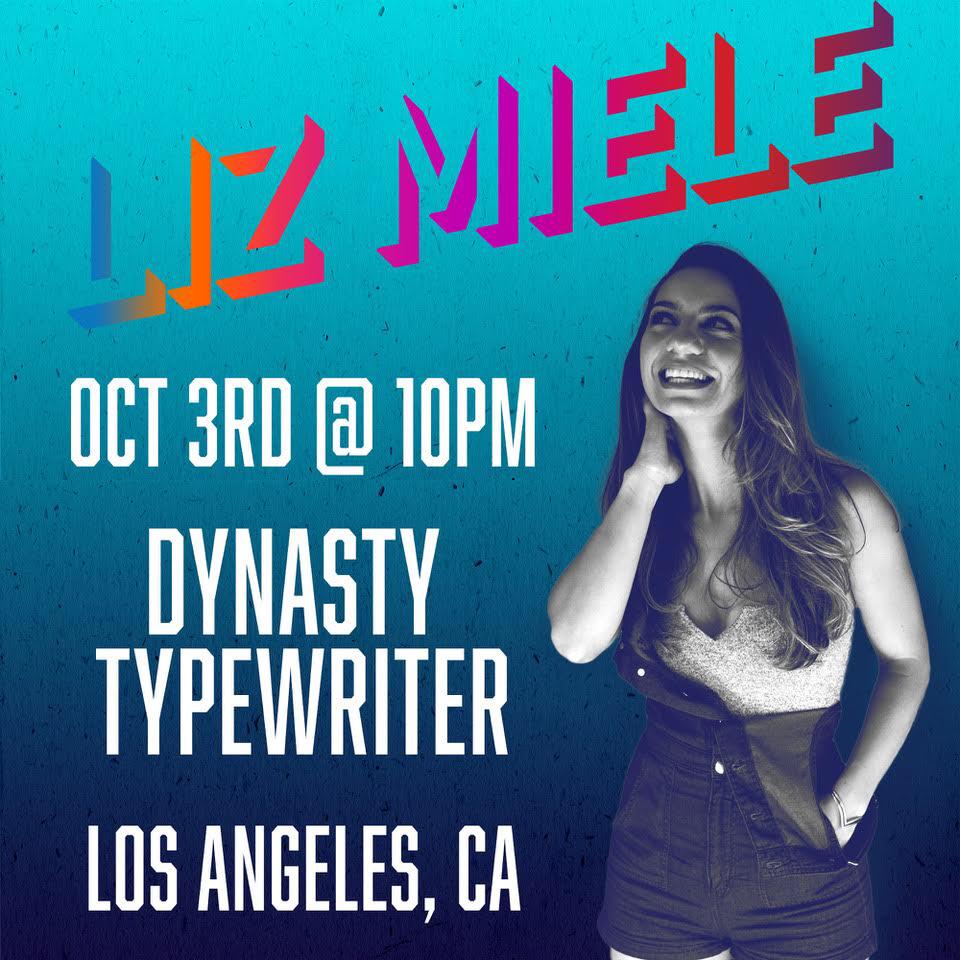 Liz Miele — Dynasty Typewriter At The Hayworth