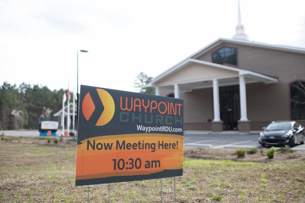 """Waypoint Church began September 2014 after Lawrence Yoo met with Mike McDaniel, the pastor of church planting at Summit Church, after they heard about his ministry in Raleigh. Yoo never intended to live in Raleigh, but six years earlier North Raleigh United Methodist flew him out to interview for a position in the church that covered youth, outreach, evangelism and young adults. Yoo said, """"During the interview the guy interviewing me said, 'If you don't take this job tell me where you are going and I'll move my family there.'"""" Yoo took the job and within his time there it because the fastest growing united methodist church in the United States. After a period of time, Summit Church reached out to Yoo to plant; which aligned with Yoo's desires for a church in Durham with strong international connections. Yoo said, """"Summit said, 'No we don't plant locally,' but after I was going to plant with Imago Dei, they changed their minds."""""""