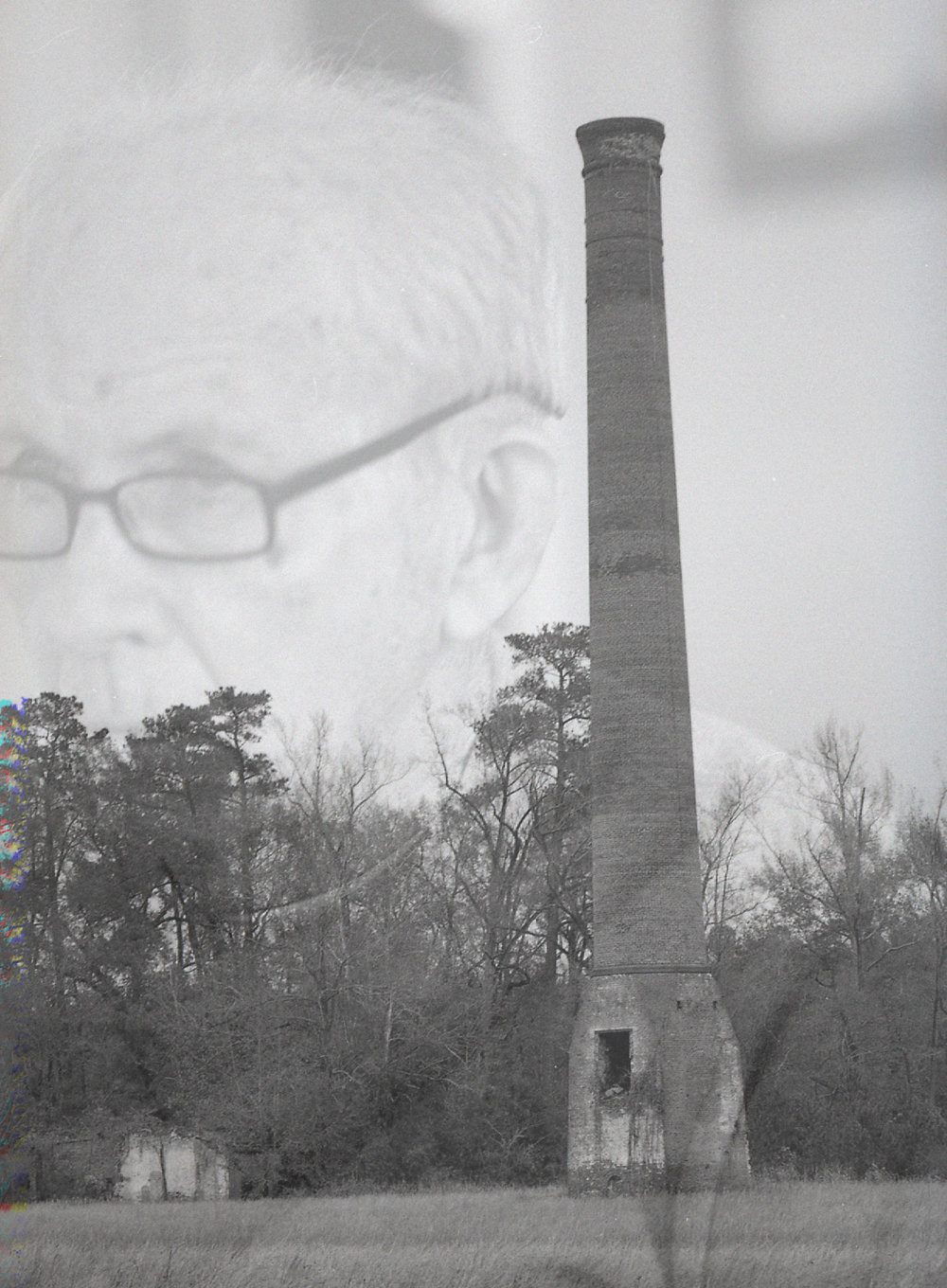The old mill that burned down.