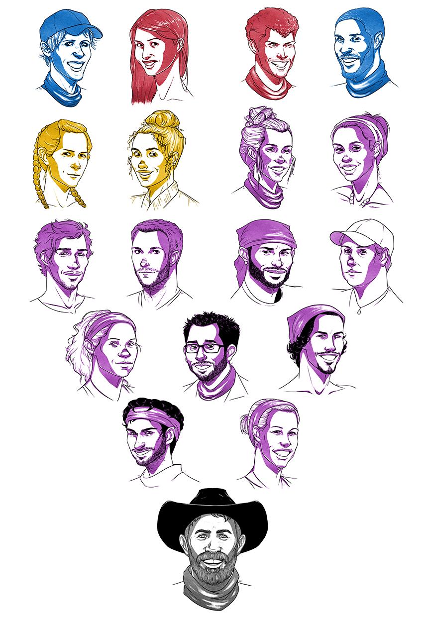 Season 35 - Heroes v. Healers v. Hustlers