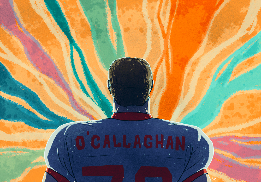 NFL Tackle O'Callaghan Comes Out