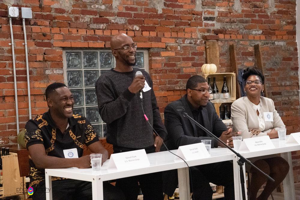 Derrick Clark On Panel Speaking