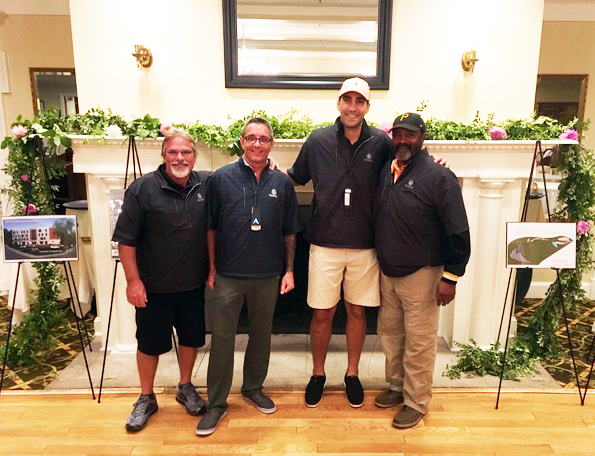 Winning Golf Team Members - Bill Schweitzer, Dave Mori, Brad Fusco, Frank Torbet