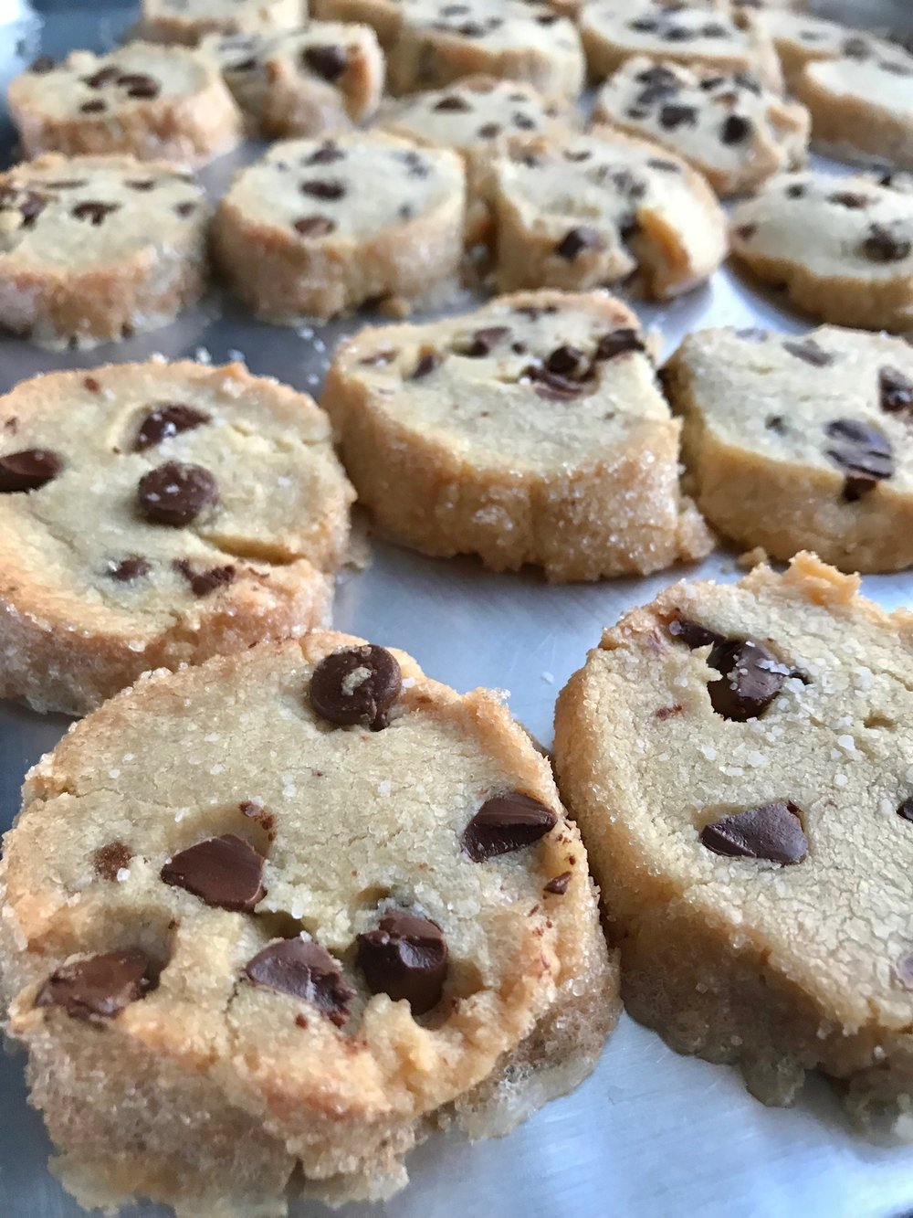line & lee salted butter chocolate chip shortbread