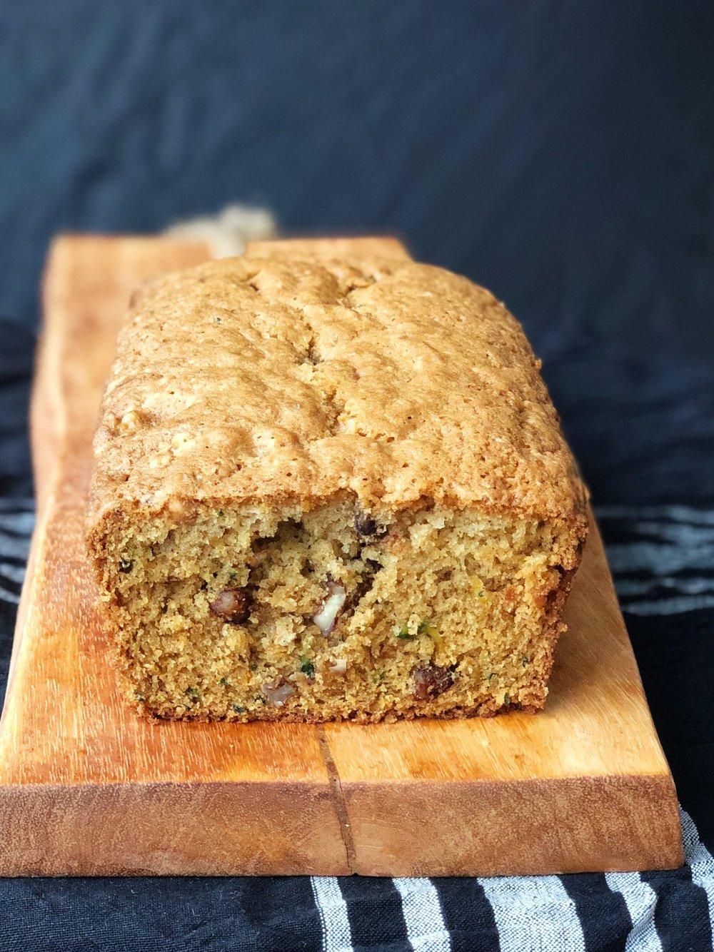 line & lee zucchini bread