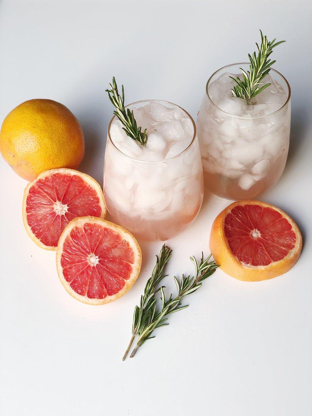 line & lee vodka & grapefruit