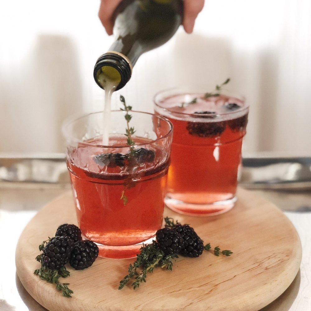 blackberry fizz