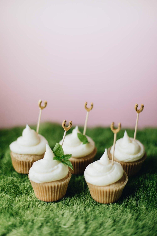 line & lee bourbon cupcake