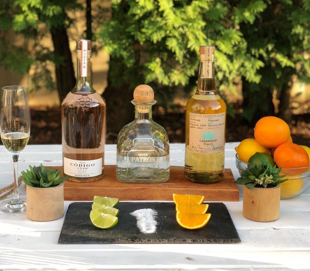 line & lee tequila tasting