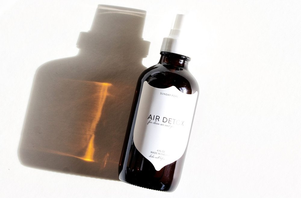 2. Change the linen, crack open that window and spray some of our Air Detox Mistinto the room.Ahhhhh.... - Air Detox Mist - $24.00
