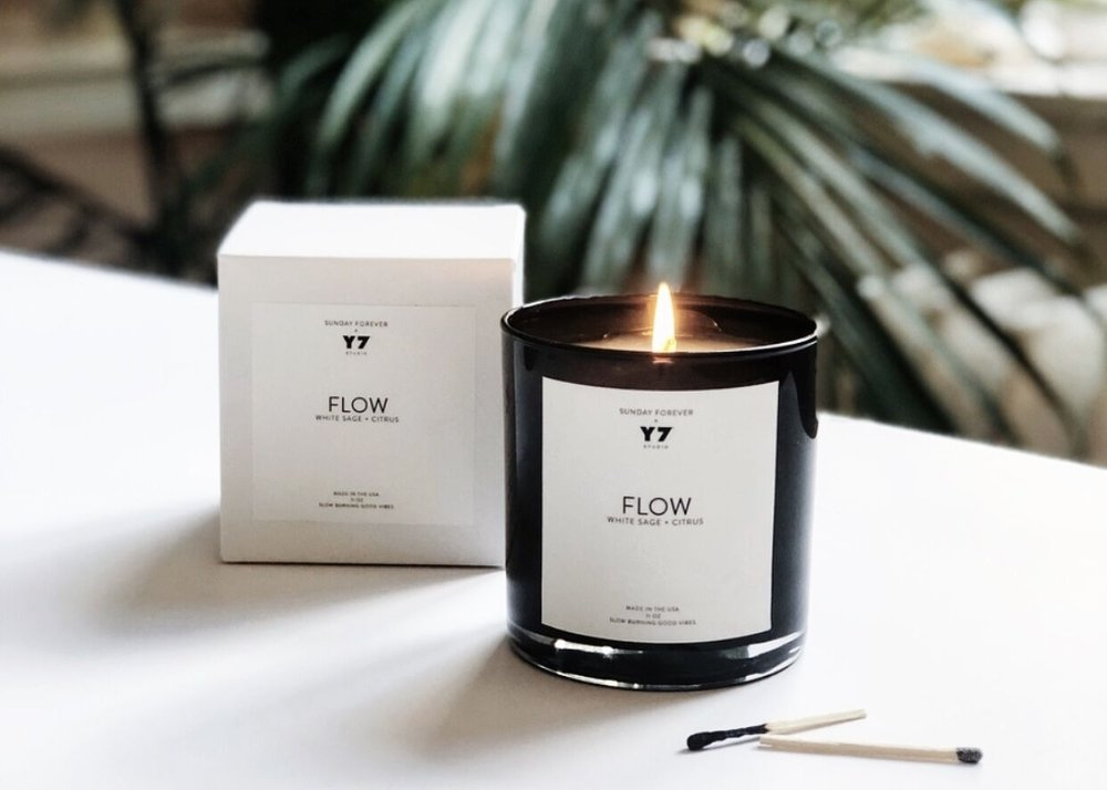 Sunday Forever x Y7 Flow Candle