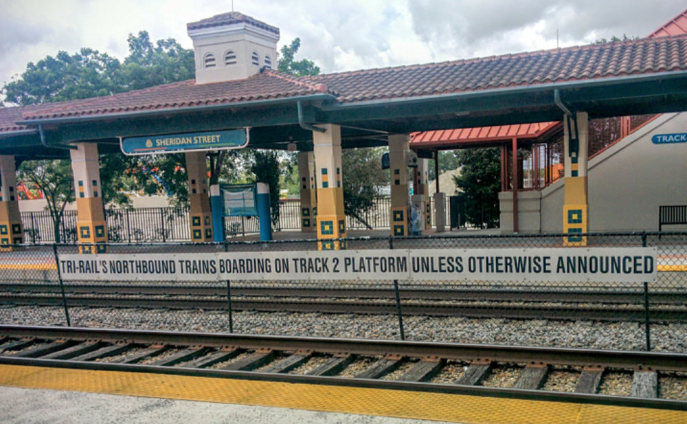 Tri Rail Sheridan Street Station