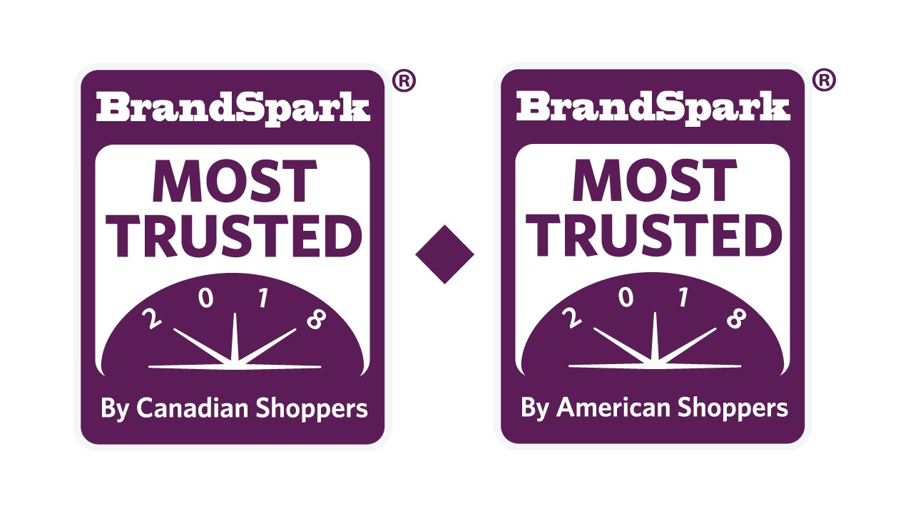 BrandSpark Most Trusted Awards