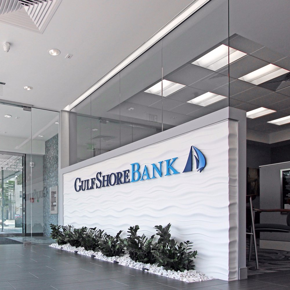 FINANCIAL + BRANDING   Gulfshore Bank HQ  VIEW PROJECT