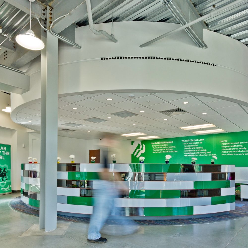 COMMUNITY + BRANDING   Girl Scouts HQ   VIEW PROJECT
