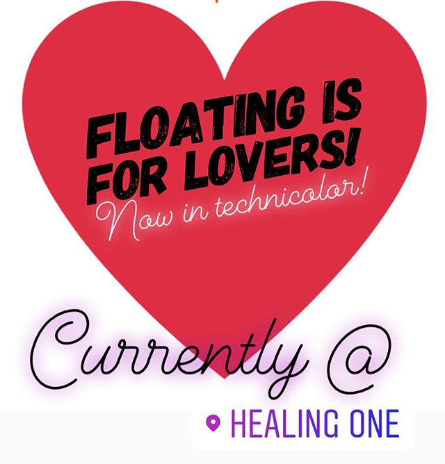 Are you lovers pumped for Valentine's Day? We are! For the next week we are having a Float Special to celebrate love and kindness. Purchase our Valentine's Package and get TWO 60 minute floats for $89, or TWO 90 minute floats for $99. Special ends the 15th, don't miss out! Gift your lover the practice of Nothingness and Relaxation! ❤️❤️❤️ #floatcenter #reno #nv #healingone #float #valentinesday #valentinesdatenight #valentines2018 #special