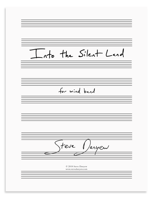 Into the Silent Land for Wind Band
