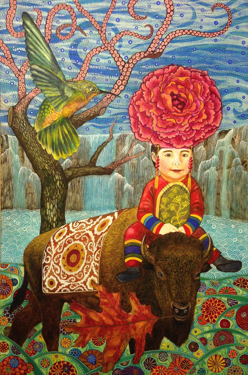 ● Buffalo Girl