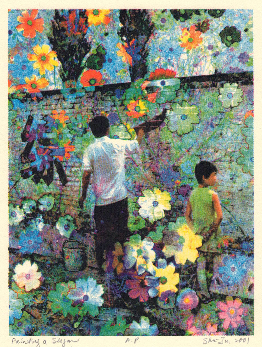 Painting A Slogan, Silk Road Portfolio