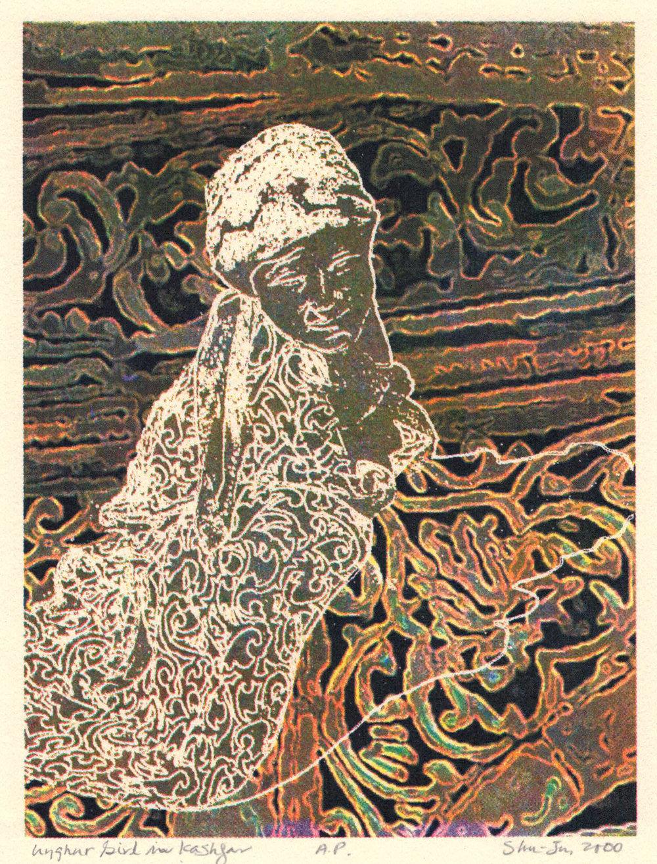 Uyghur Girl, Silk Road Portfolio