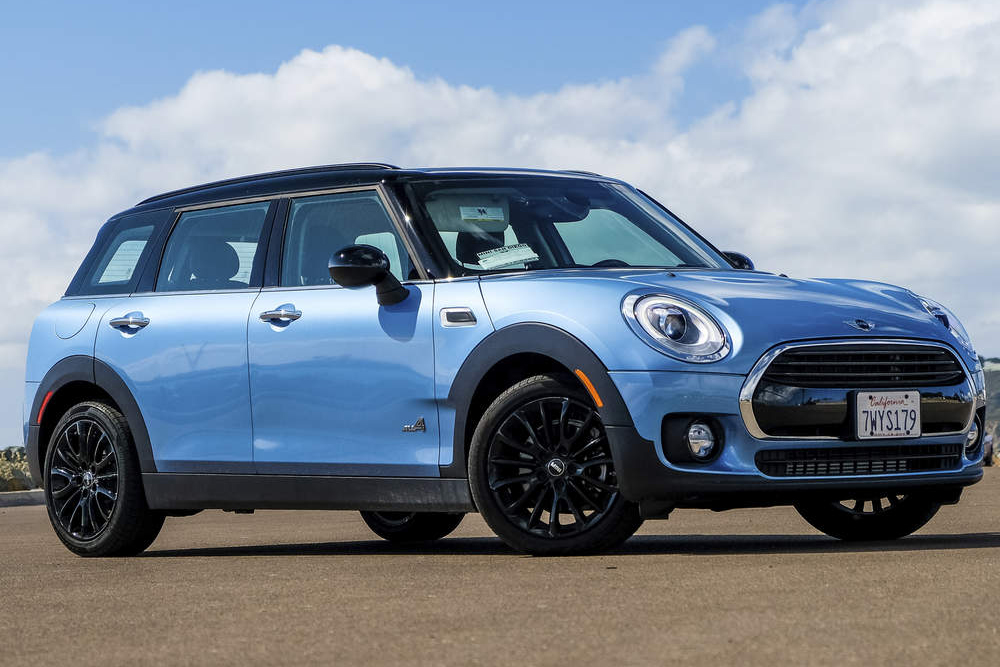 digital blue mini clubman