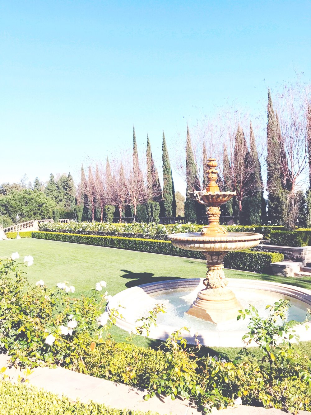 Greystone Mansion grounds