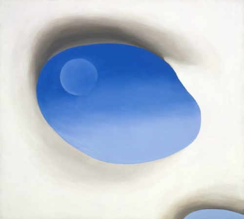 Georgia O'Keeffe's colors, blends, focus, and symbolism