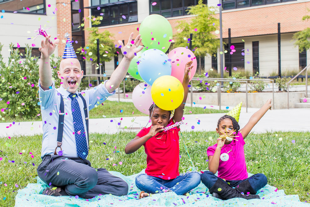 Join the Party! - We don't ask anything of our volunteers but this: bring enthusiastic, joyful attitudes and be ready to focus all your energy on our birthday kiddos!