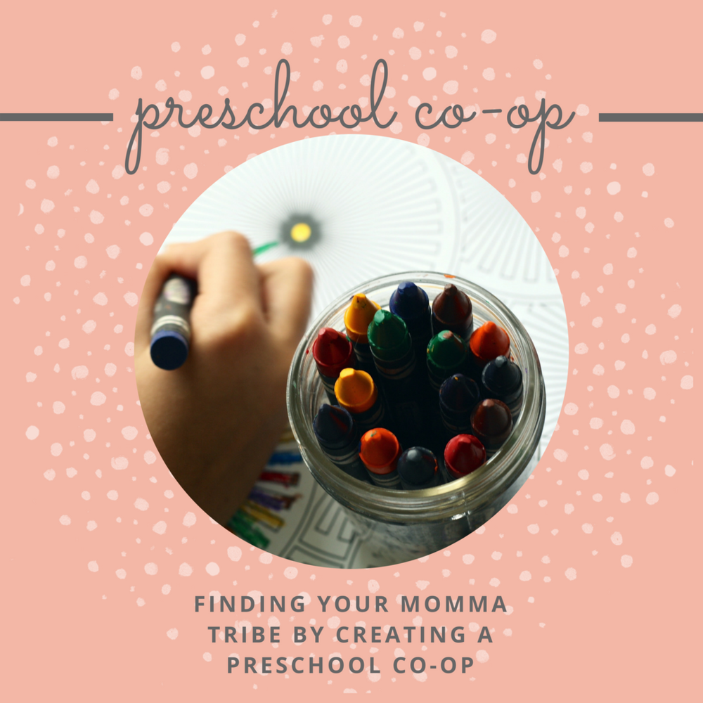 Preschool Co-Op | Creating a Co-Op | Homeschool Preschool