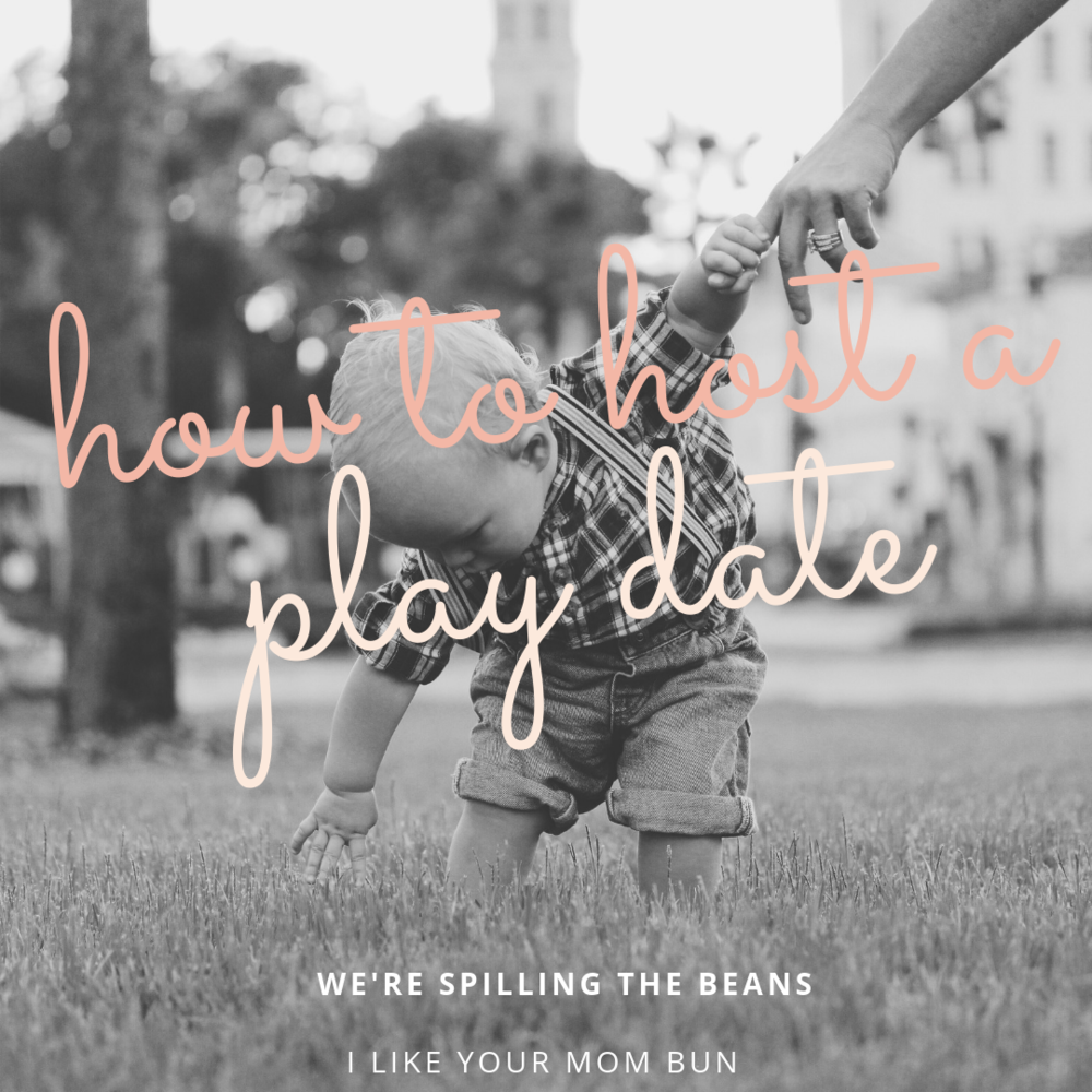 How to host the perfect playdate