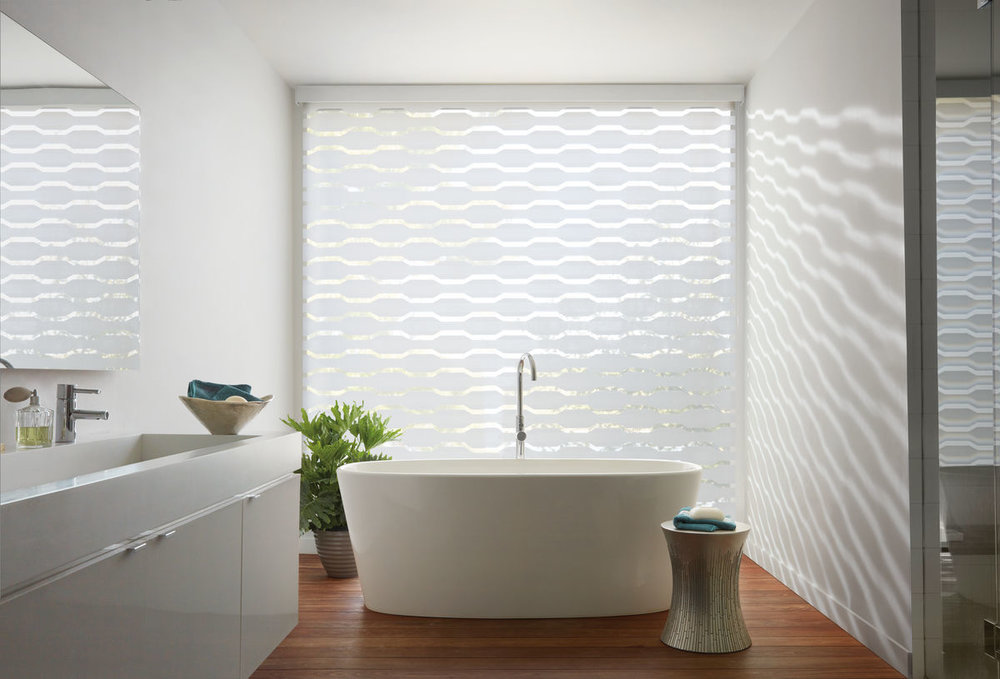 Master Bath Window Fashions