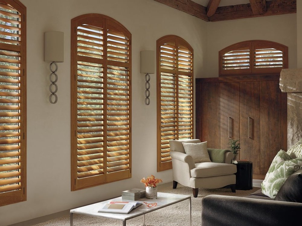 Arc Window Shutters