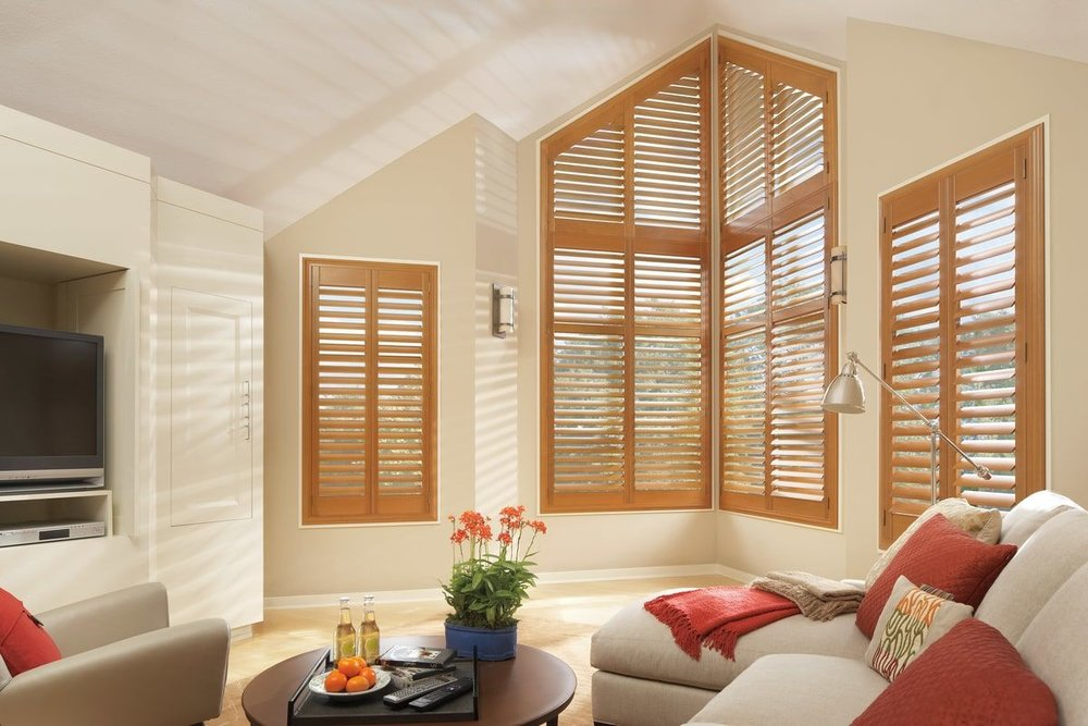 Odd Window Shape Shutters