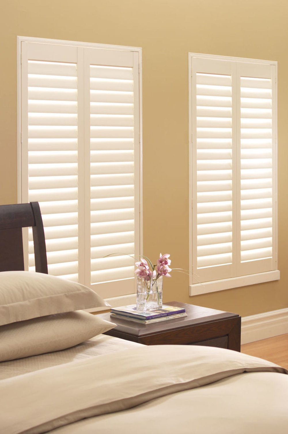 Master Bedroom Window Blinds