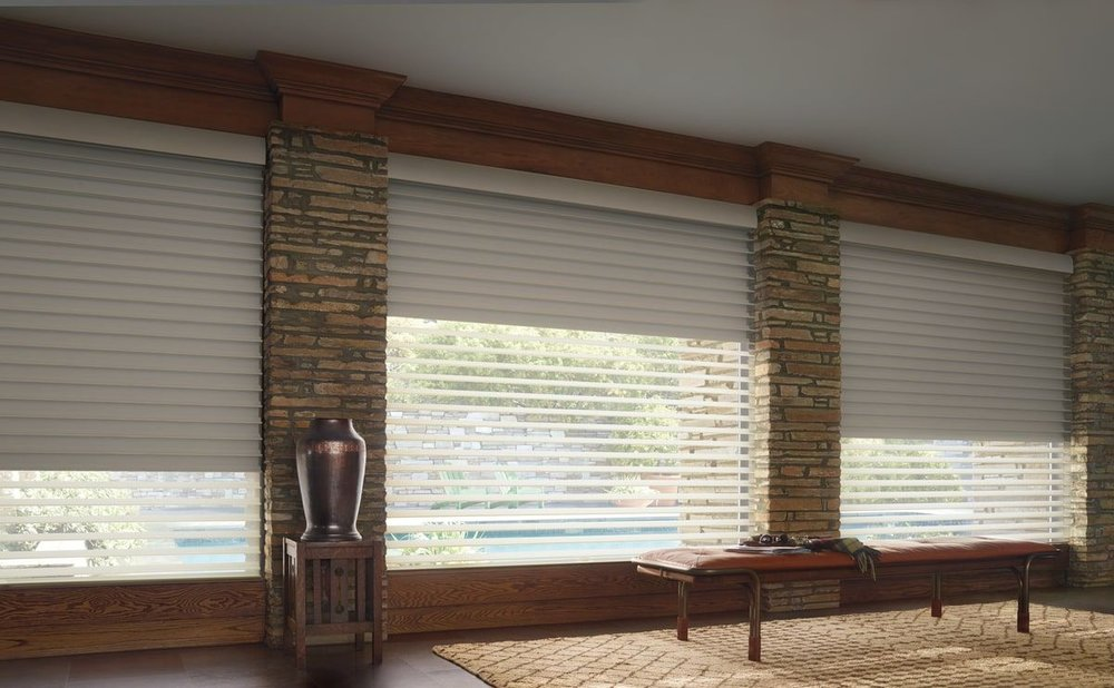 Semi-Sheer Window Blinds