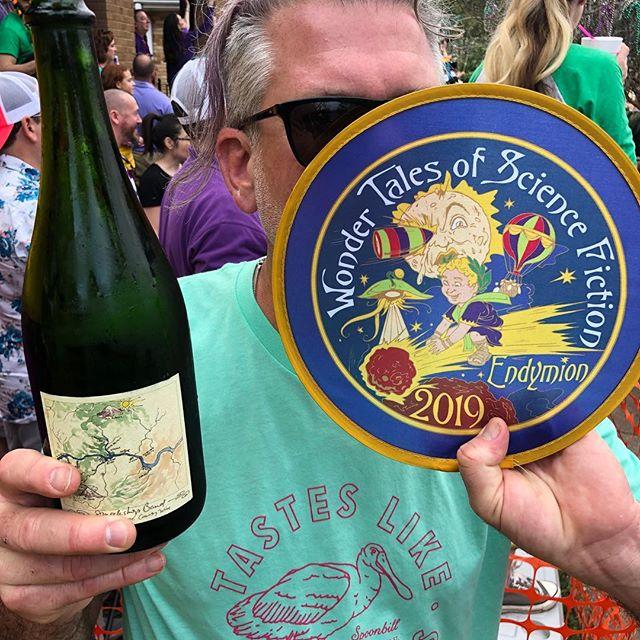 Hiyu, unofficial sponsor of Neat Wines Mardi Gras! #endymion #ciderwine #hiyu #throwmesomethingmister