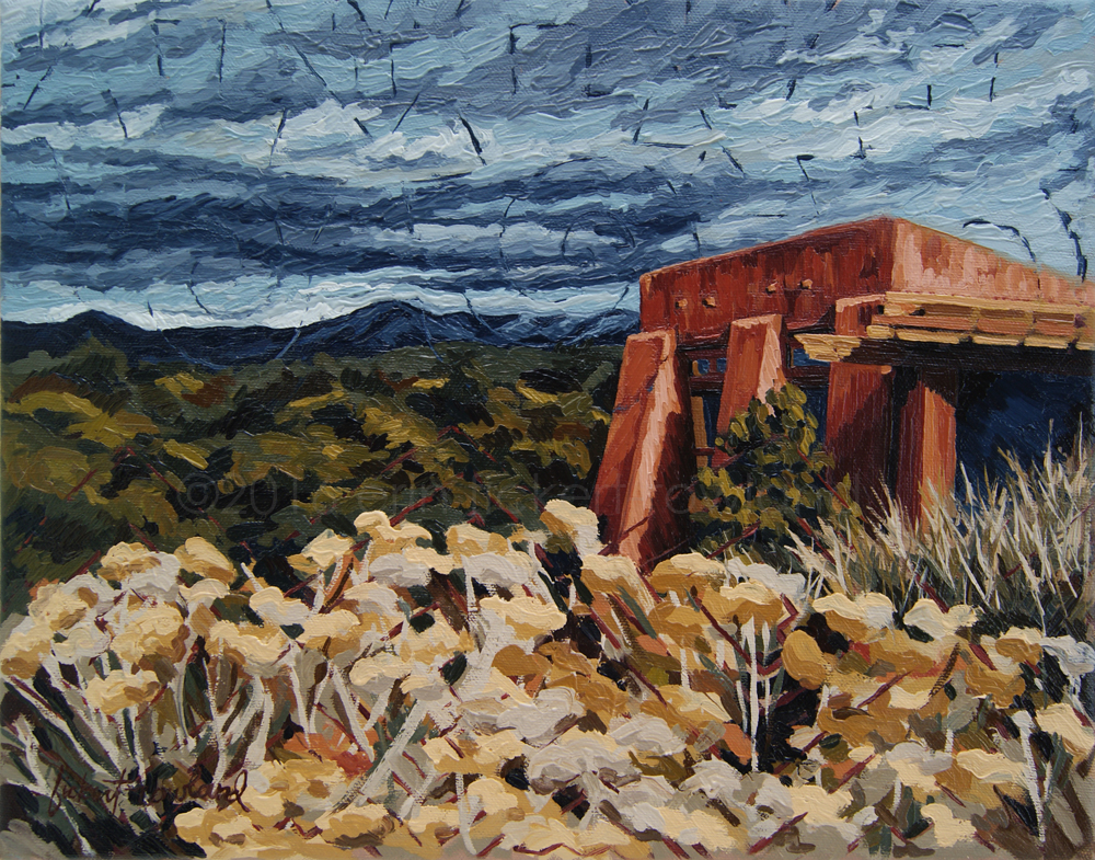 """Echoes of Tularosa""  11 in x 14 in"