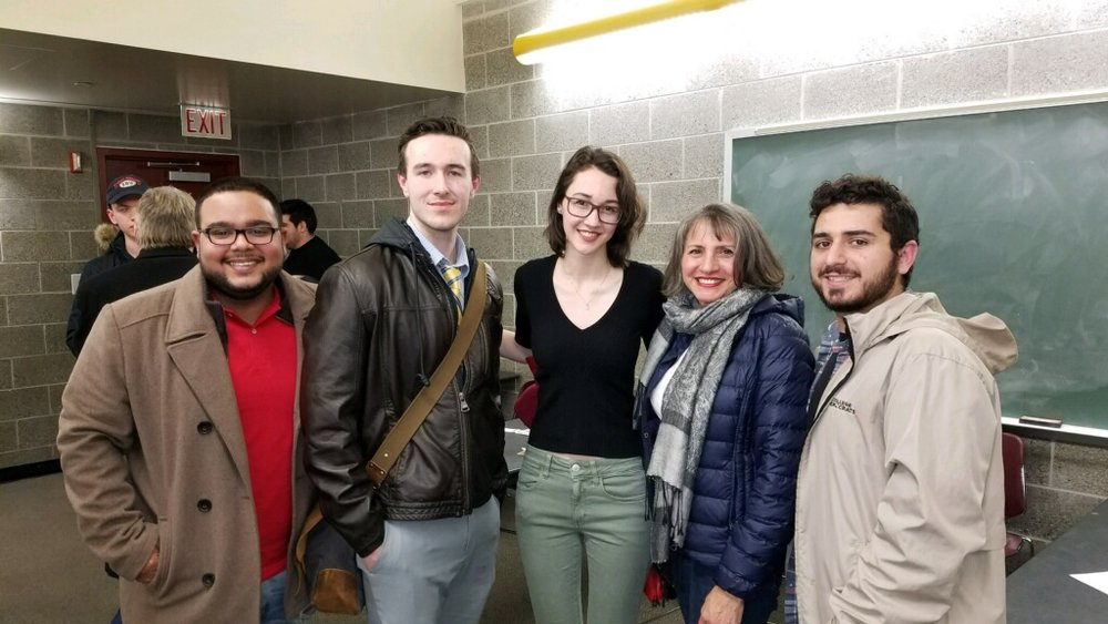Meeting with Stony Brook University Democrats - March 5, 2018