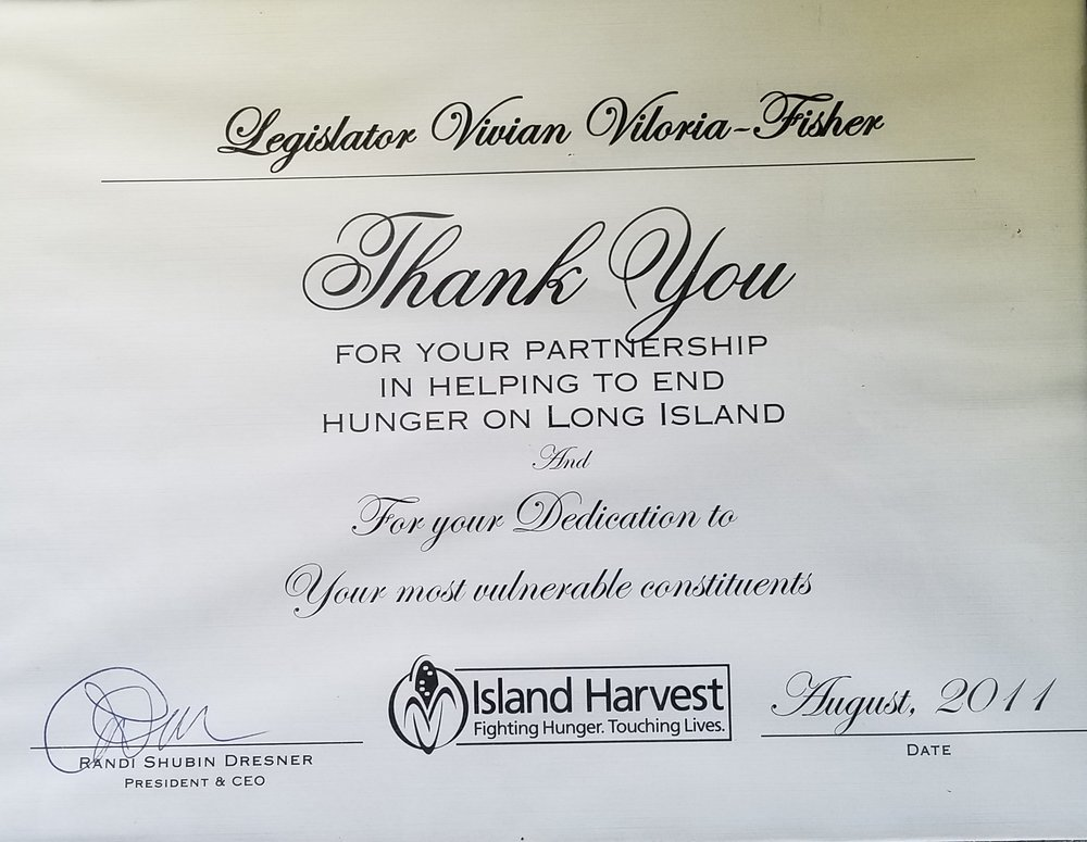 Helping to End Hunger on Long Island (2011)