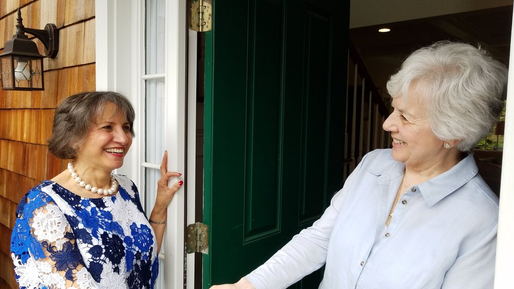 Vivian walked door-to-door to gather signatures to be put on the Congressional ballot on June 26,2018