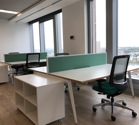 JX Nippon - This refurbishment from award-winning architects Aileen Sage in the iconic Chifley Tower included new timber floors, offices and boardroom featuring a large format painting by Jasper Knight.