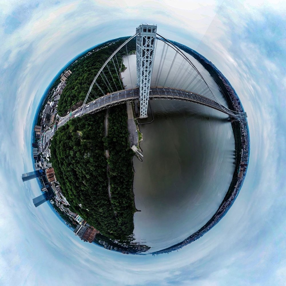 George Washington 360 Panoramic sphere