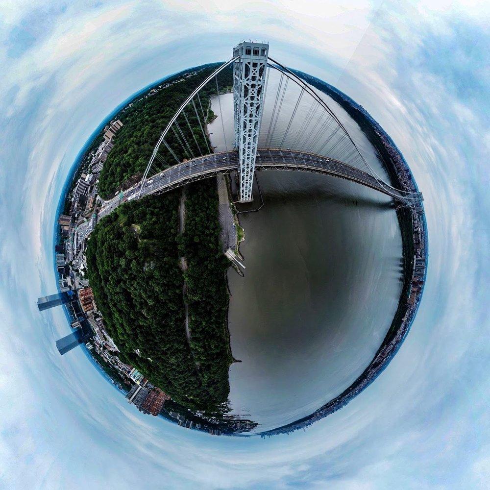 George Washington 360 Panoramic sphere