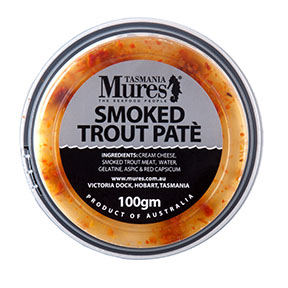 Smoked Trout Paté  100g, 500g, 1kg Scrumptious cracker toppings Shelf life: 21 days