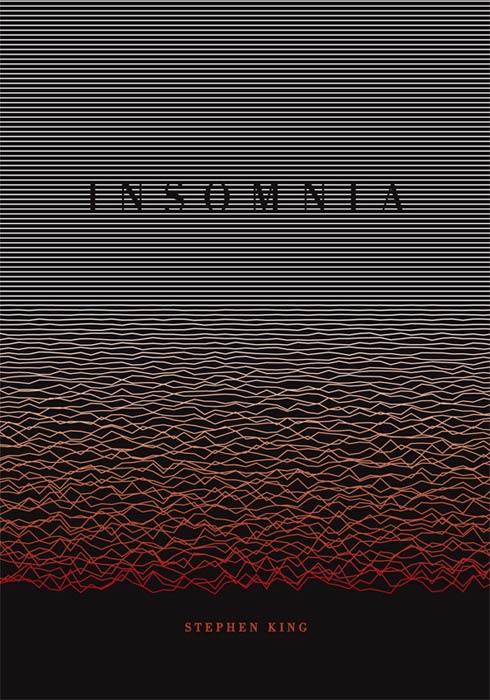 Tác phẩm của Daniel Chudy, bìa sách cho cuốn 'Insomnia' của Stephen King có khiến bạn cảm thấy hỗn độn, không yên bình.